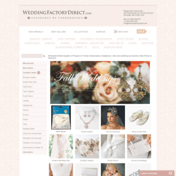 Wedding Factory Direct.Weddingfactorydirect Com At Wi Wholesale Popular Wedding Bridal