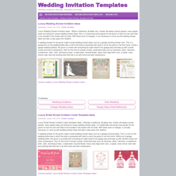 Weddinginvitationdesign.net thumbnail