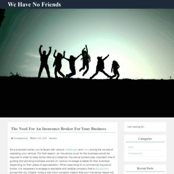 Wehavenofriends.ca thumbnail