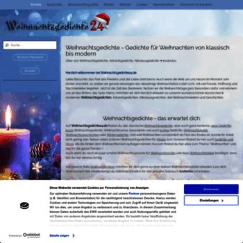 Weihnachtsgedichte24 De Lustige Weihnachtsgedichte.Weihnachtsgedichte24 De At Wi Weihnachtsgedichte Weihnachtssprüche