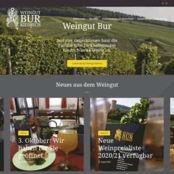 Wein-bur.de thumbnail