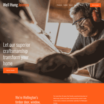 Wellhungjoinery.co.nz thumbnail