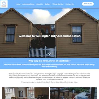 Wellingtoncityaccommodation.co.nz thumbnail