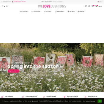 Welovecushions.co.uk thumbnail