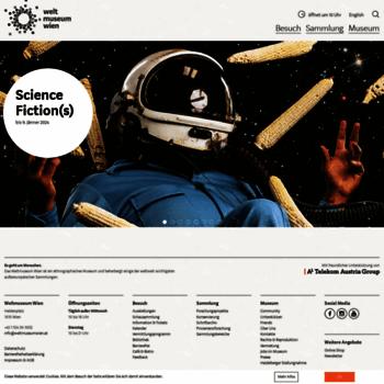 Weltmuseumwien.at thumbnail