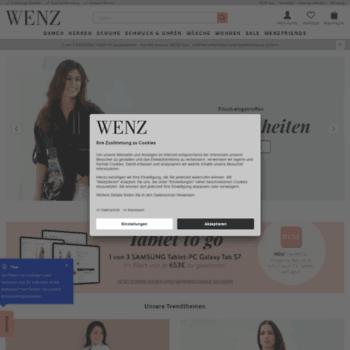 wenz.at at WI. Beim Versandhaus WENZ Mode online bestellen