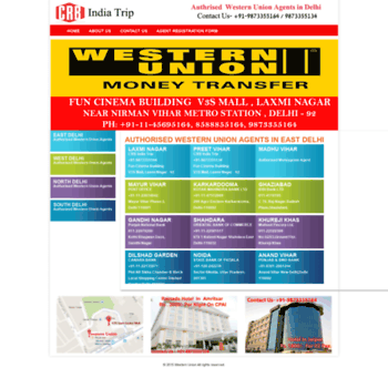 westernunionagentsindelhi in at WI  Western Union Agents in