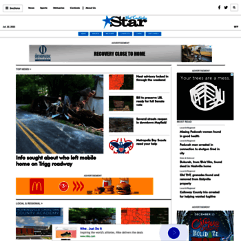 westkentuckystar com at WI  West Kentucky Star - Home Page