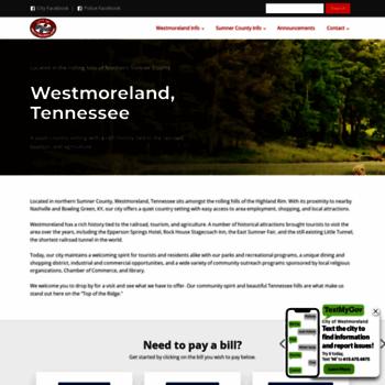 Westmorelandtn.gov thumbnail