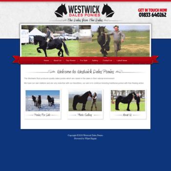 Westwickdalesponies.co.uk thumbnail
