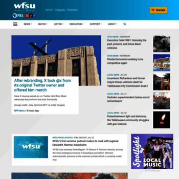 Wfsu.org thumbnail