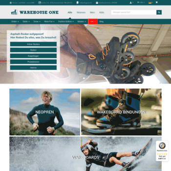 Warehouse One Snowboards, Wakeboards & Fashion Online Shop