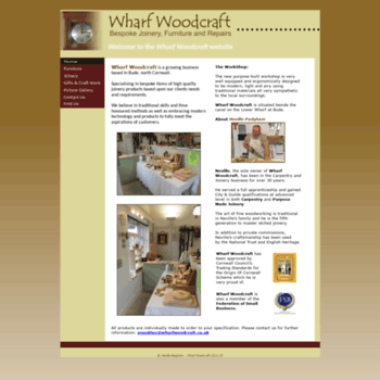 Wharfwoodcraft.co.uk thumbnail