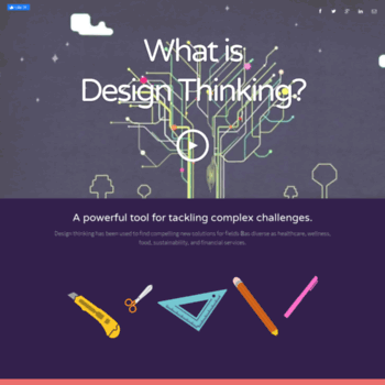 Whatisdesignthinking.org thumbnail