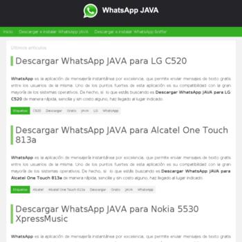 whatsappjava org at Website Informer  Visit Whatsappjava