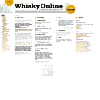 Whiskyonline.cz thumbnail