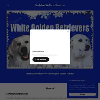 Whitegoldenretriever.net thumbnail
