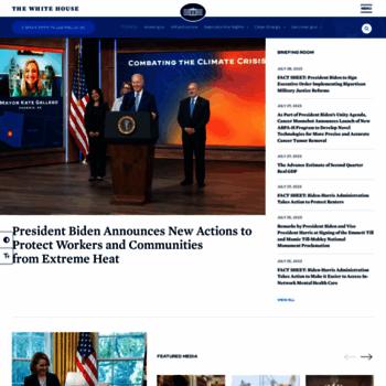 Whitehouse.gov thumbnail