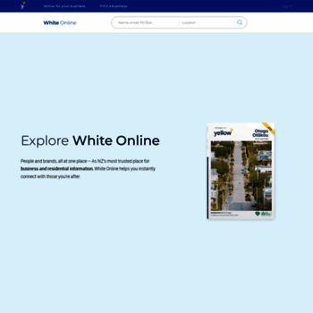 Whitepages.co.nz thumbnail