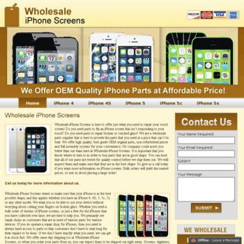 Wholesaleiphonescreens.net thumbnail