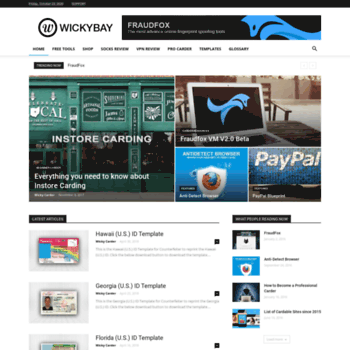 wickybay com at WI  Collection of Darknet Scamming and Phishing