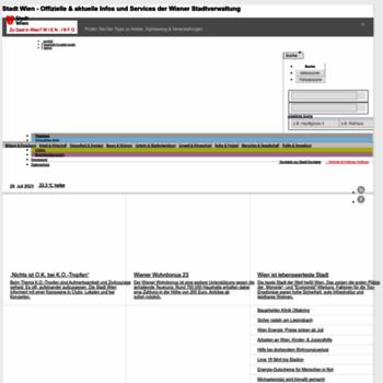 Wien.at thumbnail