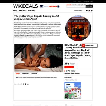 Wikideals.co.za thumbnail