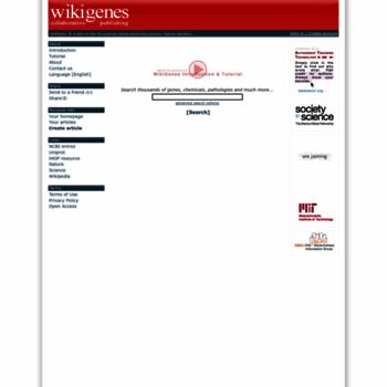 Wikigenes.org thumbnail