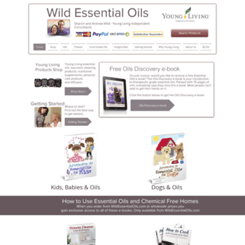 Wildessentialoils.com.au thumbnail