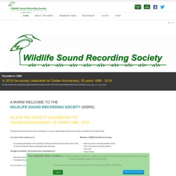 Wildlife-sound.org thumbnail
