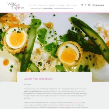 Wildthymerestaurant.co.uk thumbnail