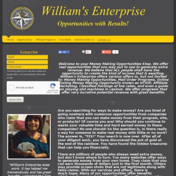 Williamsenterprise.biz thumbnail