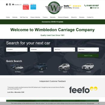 Wimbledoncarriage.co.uk thumbnail