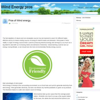 Windenergypros.org thumbnail