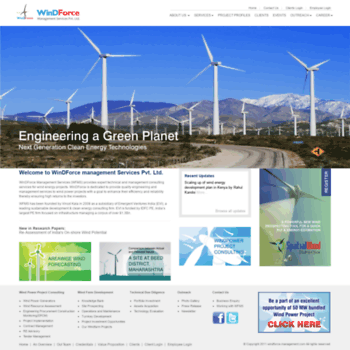 Windforce-management.com thumbnail