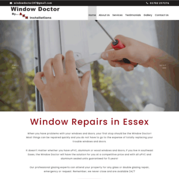 Windowrepairsrayleigh.co.uk thumbnail