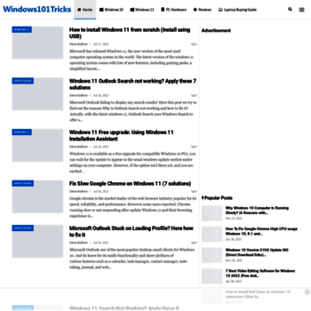 windows101tricks com at WI  Windows 10 October 2018 Update