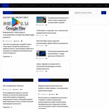 Веб сайт windowsabc.ru