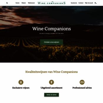 Winecompanions.nl thumbnail