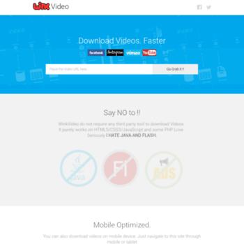 winkvideo com at WI  WinkVideo | Video Downloader for
