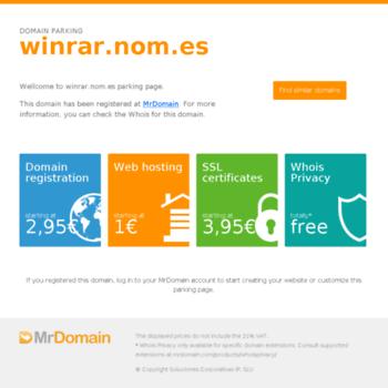 Winrar.nom.es thumbnail