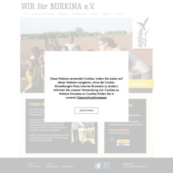 Wir-fuer-burkina.de thumbnail