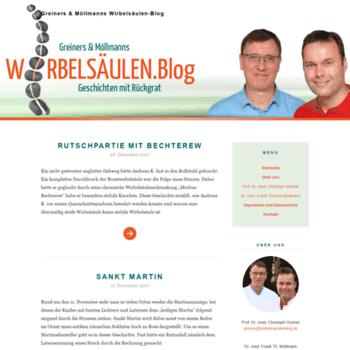 Wirbelsaeulenblog.de thumbnail
