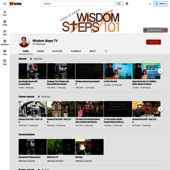 Wisdomsteps101.net thumbnail
