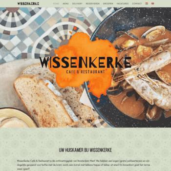 wissenkerke-sloterdijk.nl at WI. welkom - Restaurant