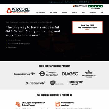 Wizcore.co.uk thumbnail