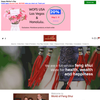 wofsusa com at WI  World of Feng Shui