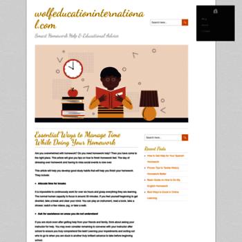 Wolfeducationinternational.com thumbnail