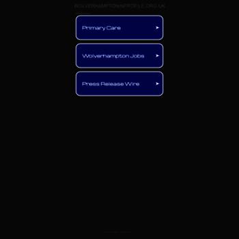 Wolverhamptoninprofile.org.uk thumbnail
