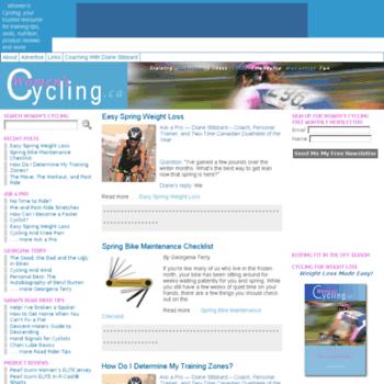 Womenscycling.ca thumbnail